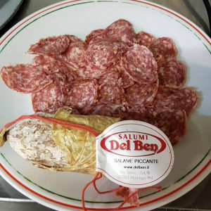 De enige echte ambachtelijke salami uit Maniago!