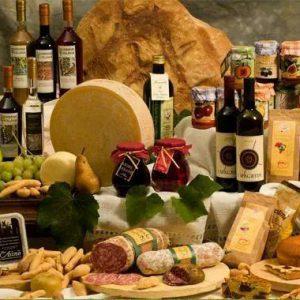 Exclusieve wijnen en delicatessen uit Friuli.
